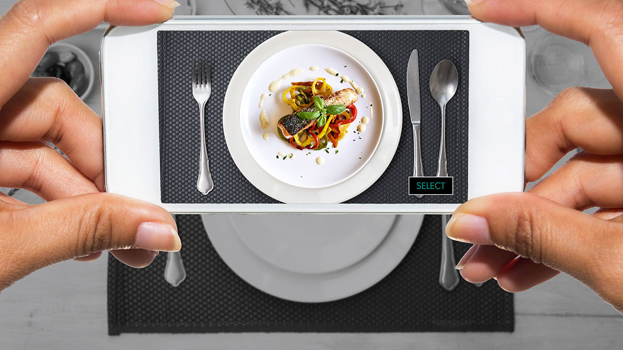 Point Sizzle At A Plate, Receive Augmented Reality Visions Of The Top Dishes