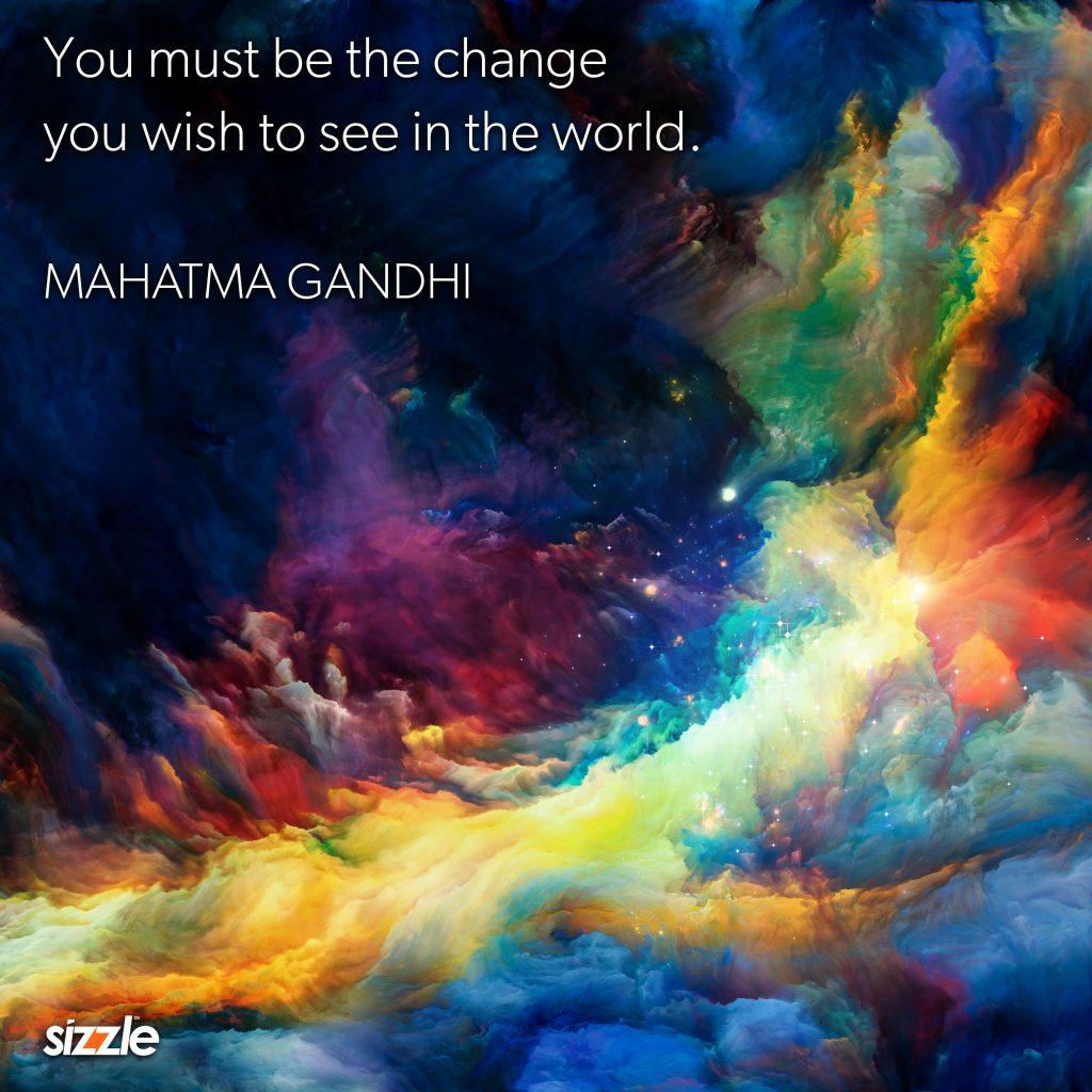 Mahatma Gandhi Food For Thought