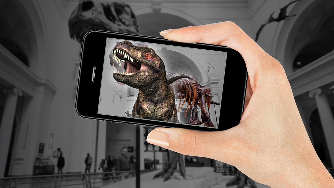 Sizzle Augmented Reality Exhibits And Treasure Hunts