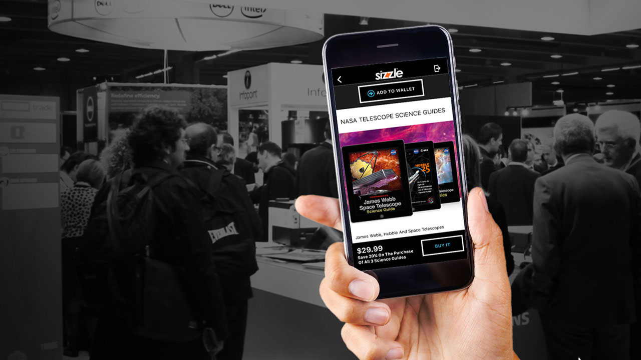 Sizzle Adds A Suite Of Tools For Exhibitors And Users To Use In Trade Shows