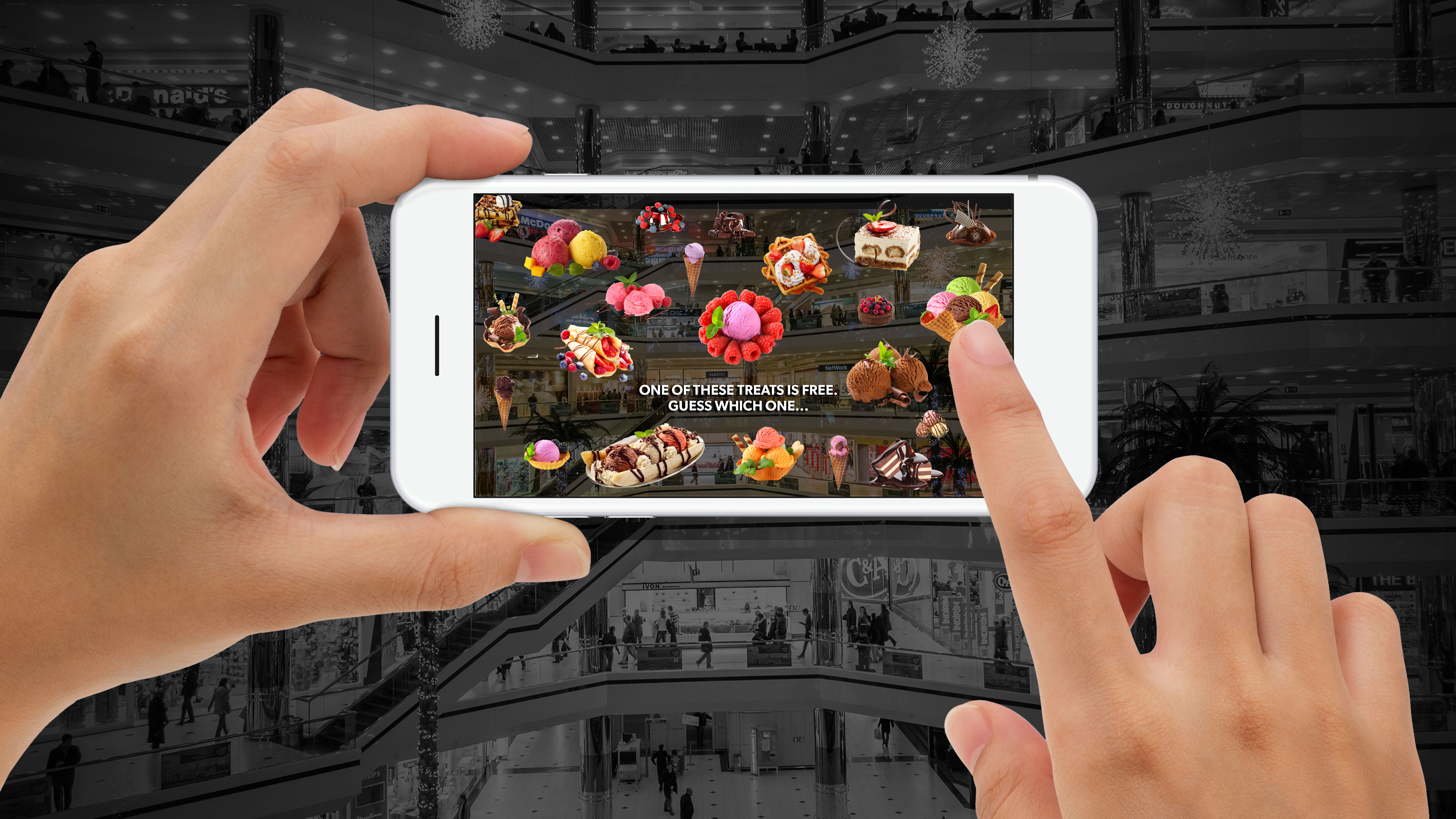 Sizzle Delivers Augmented Reality Games
