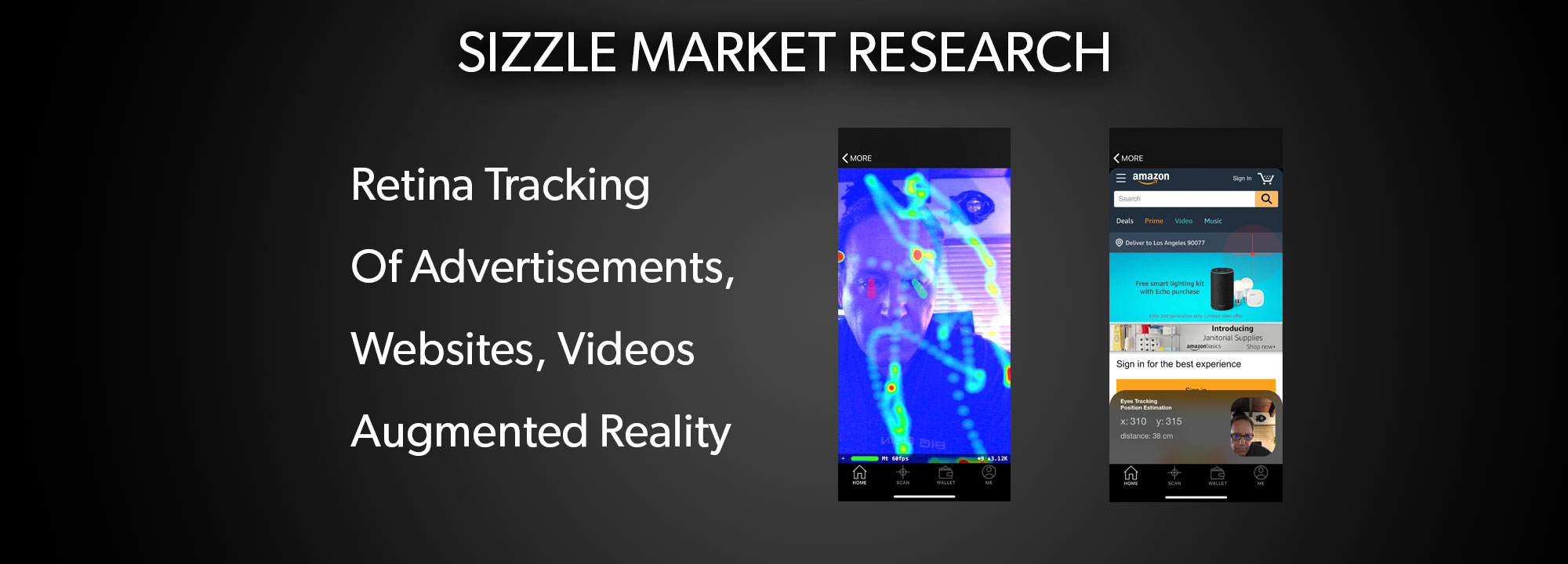 Sizzle Retina Scan Market Research System